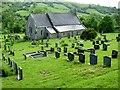 SO2476 : St. Mary's Church and graveyard, Llanfair Waterdine by Peter Evans