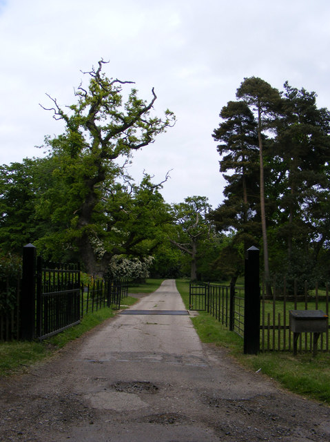 Entrance to Sotterley Hall
