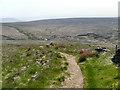 SE0012 : Pennine Way and A640, Marsden Moor by David Dixon