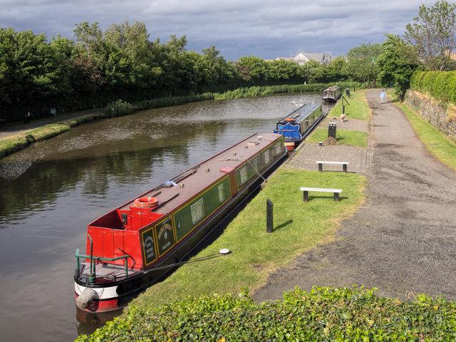 Ratho canal mooring