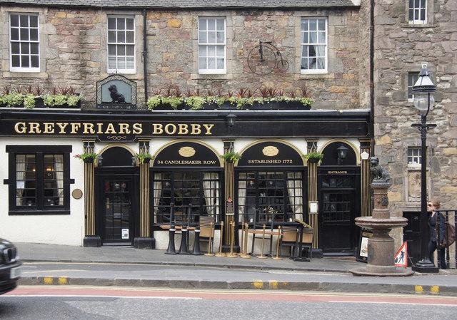 Greyfriars Bobby pub, Candlemaker Row, Edinburgh