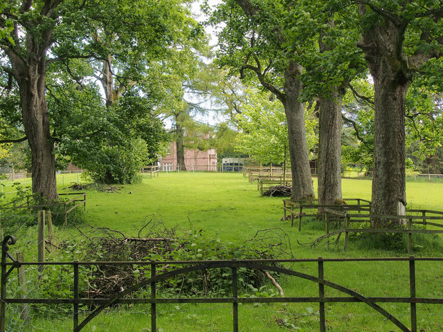 Parkland, beside Bonhard House