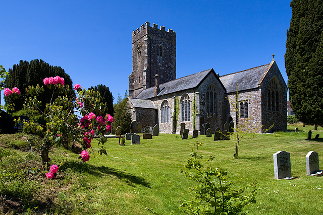 St Matthew's church, Coldridge