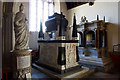 SS5529 : St Peter's church, Tawstock - Bourchier monuments by Mike Searle
