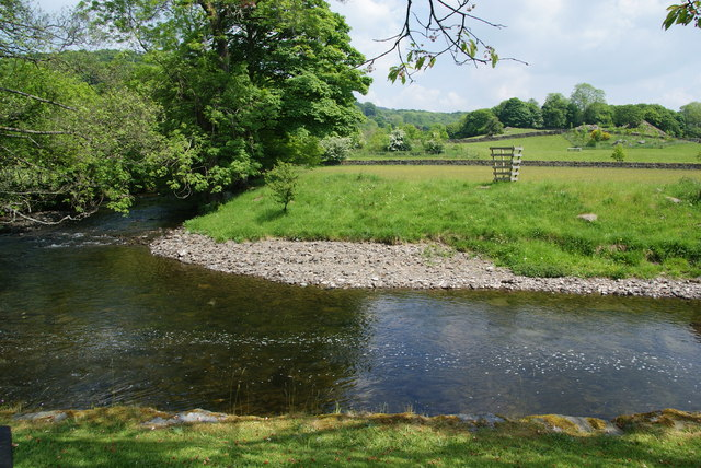 The River Kent at Staveley