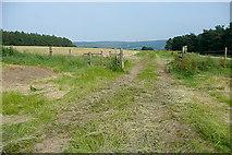 SK2468 : Footpath near Calton Houses by Graham Horn