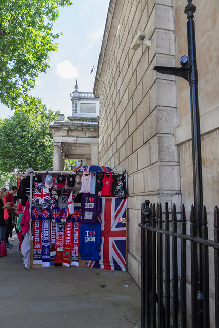 Tourism in Whitehall, London SW1