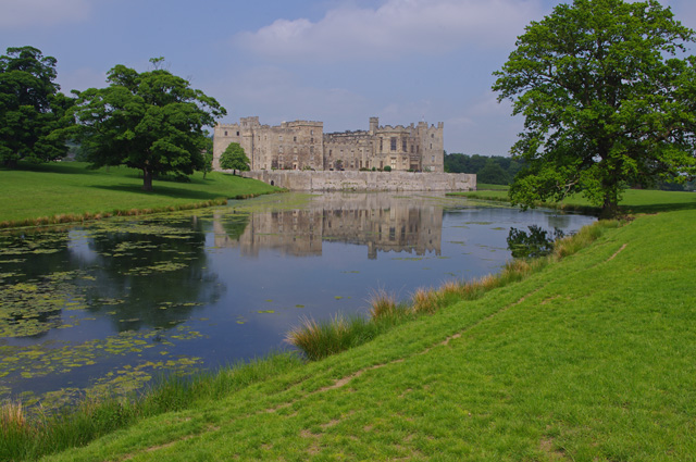 Low Pond and Raby Castle