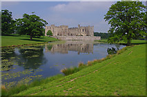 NZ1221 : Low Pond and Raby Castle by Ian Taylor