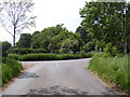 TM4481 : Wangford Road junction by Adrian Cable