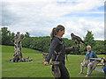 SE6083 : Bird of prey with handler by Pauline E