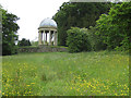 SE6083 : Ionic Temple and haha, Duncombe Park by Pauline E