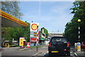 TQ3161 : Shell filling station, A22 by N Chadwick
