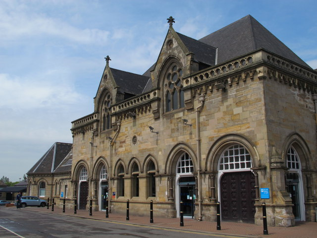 Middlesbrough station buildings