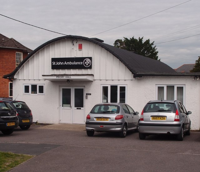 Andover Spiritualist Church meetings held at St Johns Ambulance, Priory Hall