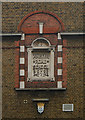 TQ3186 : London School Board plaque & LCC shield by Julian Osley