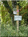 TM1539 : Bridleway signs of the bridleway to Freston Street by Adrian Cable