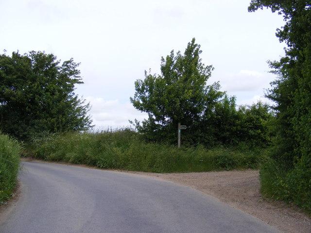 The Street & footpath