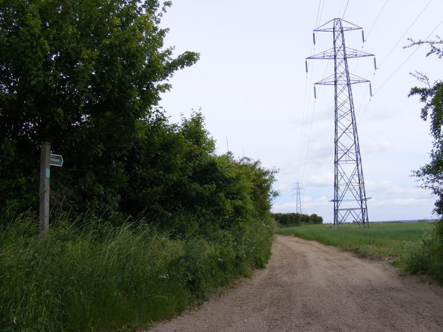 Footpath off The Street