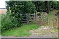 TL0132 : Footpath to Manor Farm by Philip Jeffrey