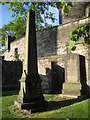 NT2673 : Memorials and walls, Old Calton Burial Ground by Robin Stott
