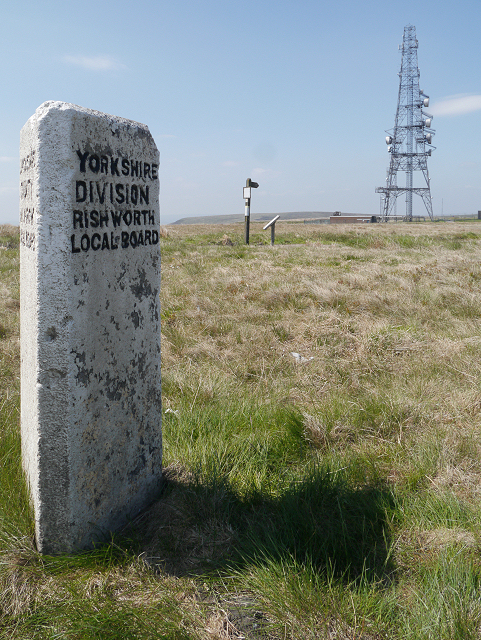 Yorkshire County Boundary Stone, Windy Hill