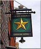 TQ1649 : The Star (2) - sign, 36 West Street, Dorking by P L Chadwick