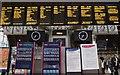 TQ2681 : Departure boards at Paddington Station by Steve Daniels