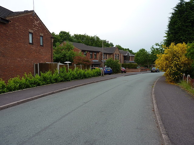 Houses on Attingham Drive in Hawks Green