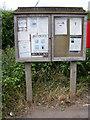 TM1039 : Copdock & Washbrook Village Notice Board by Adrian Cable