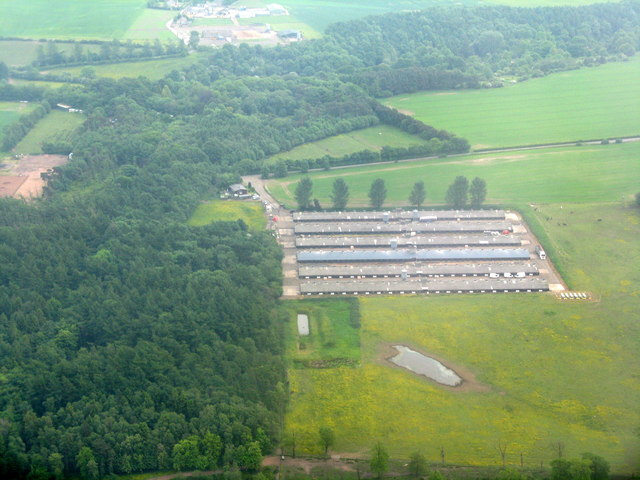 Poultry houses at Drumshoreland