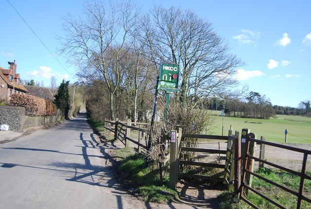 Darent Valley Path off Franks Lane