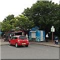 ST3552 : Lovington's ice cream stall, Sedgemoor (South) by Jaggery