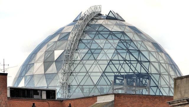The Victoria Square dome, Belfast (2013)
