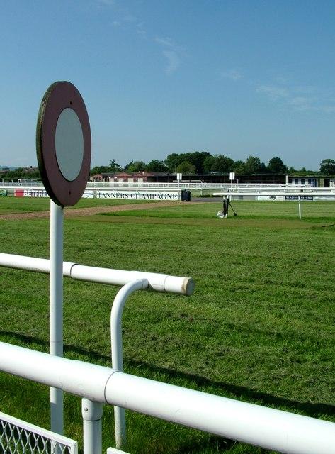 The Finishing Post - Ludlow racecourse