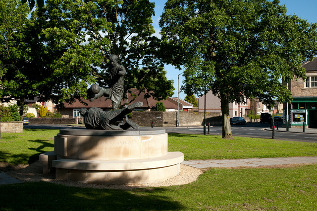 Statue(s) on The Green, West Auckland
