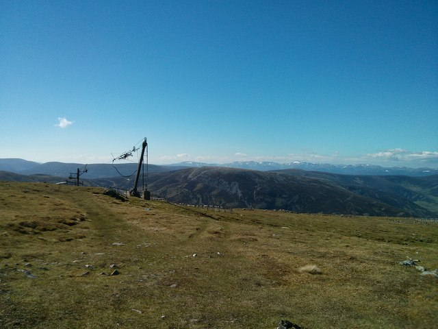 Top end of Ski Tow (minus the Snow)