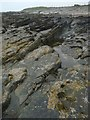 HY7241 : Rockpool below Newark, Sanday, Orkney by Claire Pegrum