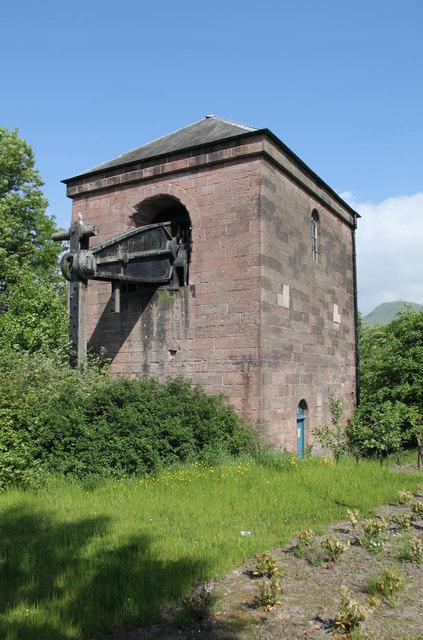 Devon Colliery pump house