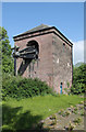 NS8995 : Devon Colliery pump house by Alan Murray-Rust