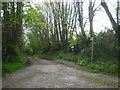 SX3775 : Public footpath to Higher Oldclims by Rod Allday