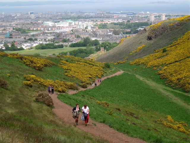 Long Row and Dry Dam, Holyrood Park