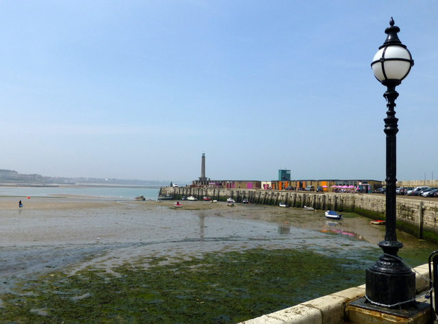 The harbour and the Stone Pier, Margate