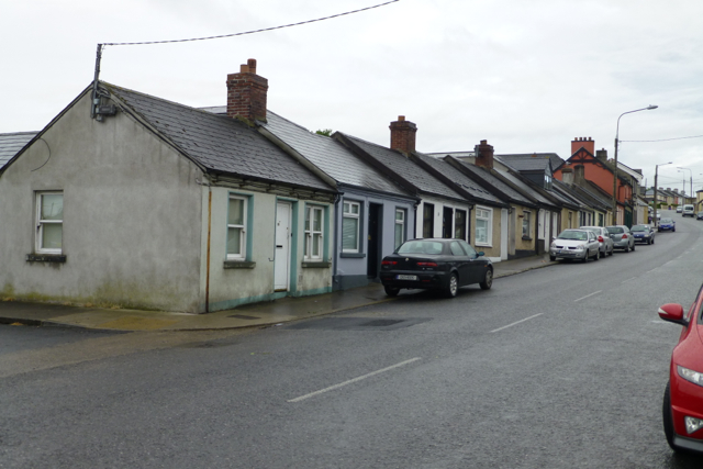 Single storey houses on Upper Yellow Road