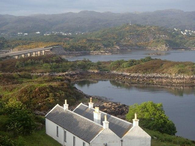 Eilean Ban from the Skye bridge