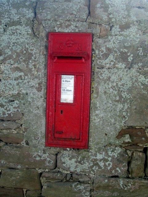 Wall post box, Fenham