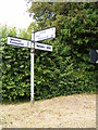 TM2681 : Roadsign on Mill Lane by Adrian Cable