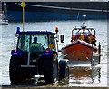 J5082 : Launching Bangor Lifeboat by Rossographer