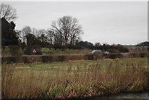 TL4311 : Traffic on the A414 by N Chadwick