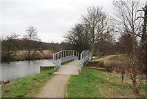 TL4311 : Footbridge, Stort Valley Way by N Chadwick